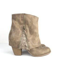 Not Rated 'Summer' Ankle Boot With Lace Detail